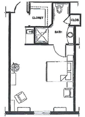 Iris Suites - Floor Plan